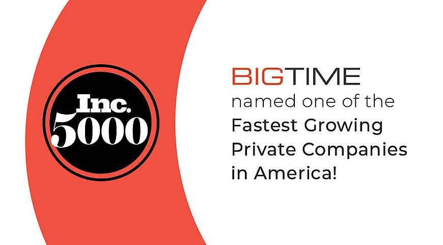 Named on Inc 5000 List of Fastest Growing Companies in America